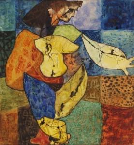 Bán Béla: Táncos, 1948