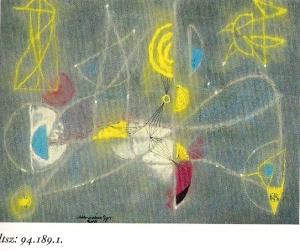 Marosán Gyula: Kompozíció, 1950