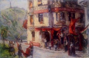 Marosán Gyula: Házépítés, 1952