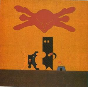 Korniss Dezső: Artisták, 1950