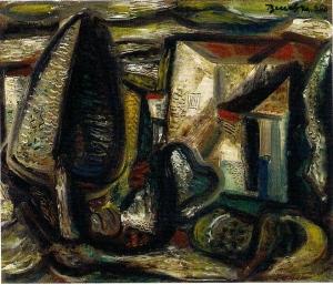 Bene Géza: Külváros, 1950