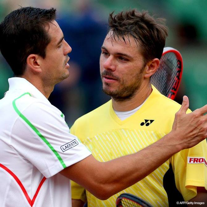Garcia-Lopez és Wawrinka