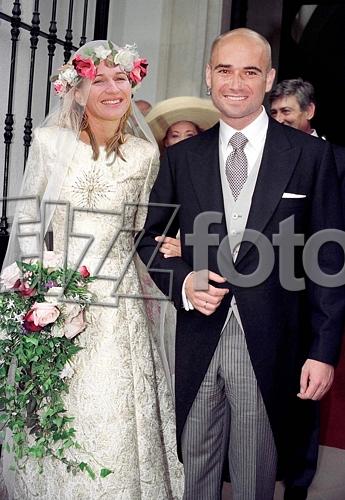 esküvői kép andré steffi