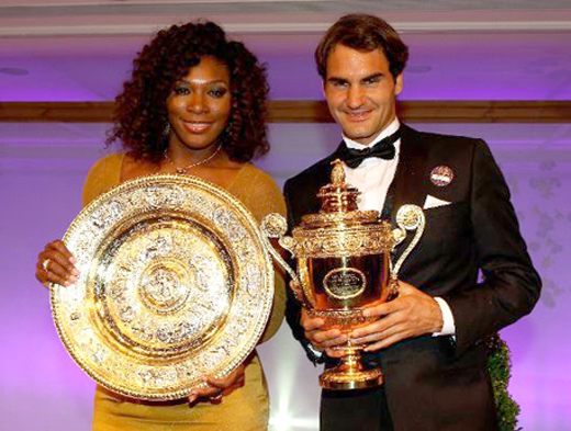 Serena Williams & Roger Federer - Wimbledon, 2012