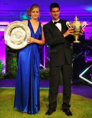 Petrá Kvitová & Novak Djokovic 2011