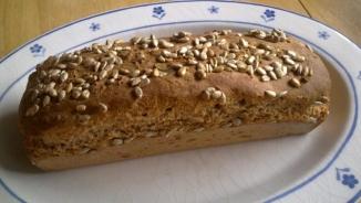 kenyér napraforg.