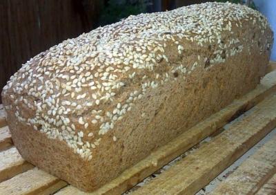 kenyér szezámmag