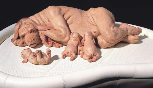 patricia-piccinini The Young Family, 2002