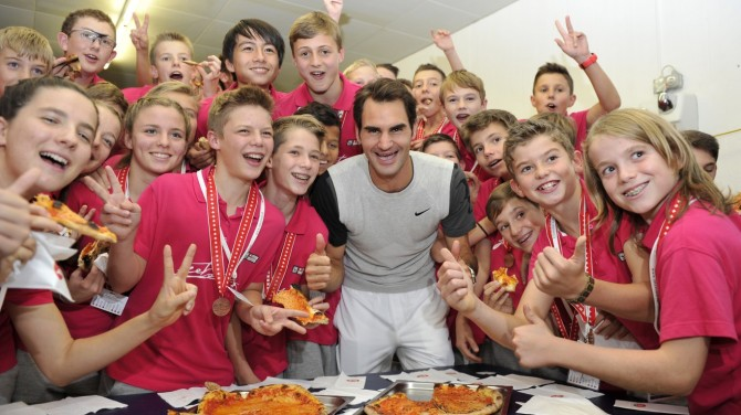 RF pizza afterparty in Basel