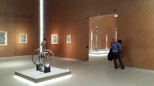 giacometti kiállítás saját fotó