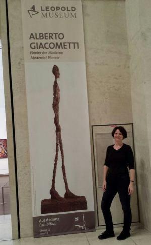 Giacometti kiállítás