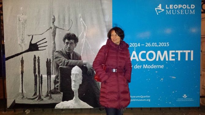 Giacometti plakát