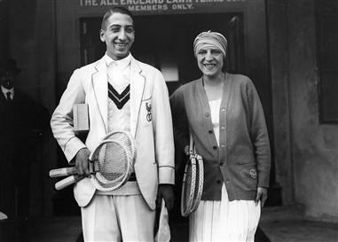 René Lacoste and Susanne Lenglen 1925 first winners French Open