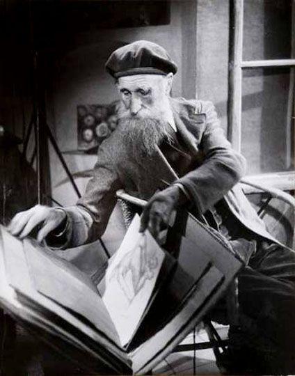 Aristide Maillol 1943 Photo by G. Karquel