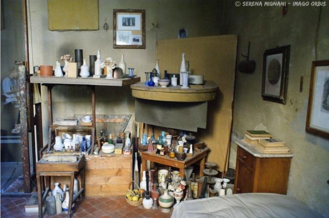 atelier of Giorgio Morandi
