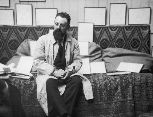 Henri Matisse at his studio in 1913 May - photo by Alvin Langdon Coburn, George Eastman House - Getty Images
