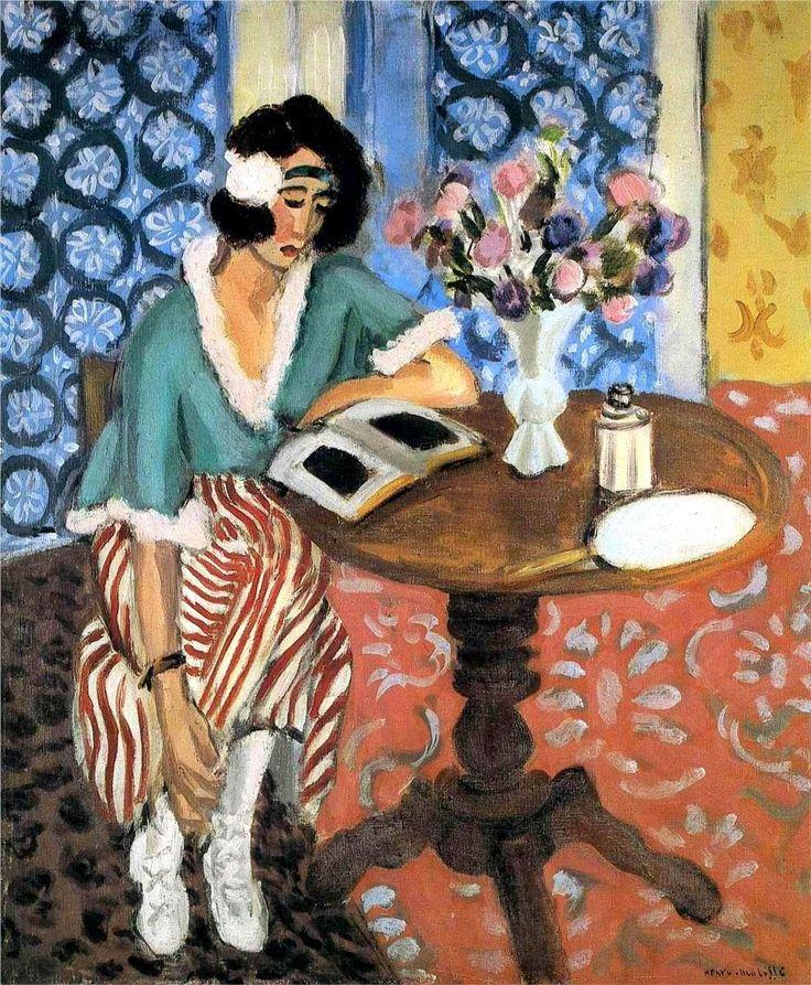 Henri Matisse Liseuse au gueridon – 1921
