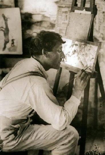 Marc Chagall (1887-1985) in Paris ca. 1910_1911