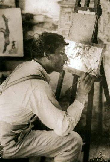Marc Chagall (1887-1985) in Paris ca. 1910_1911