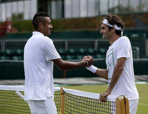 roger with kyrgios