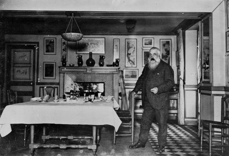 01. Monet again - The painter in his kitchen at Giverny