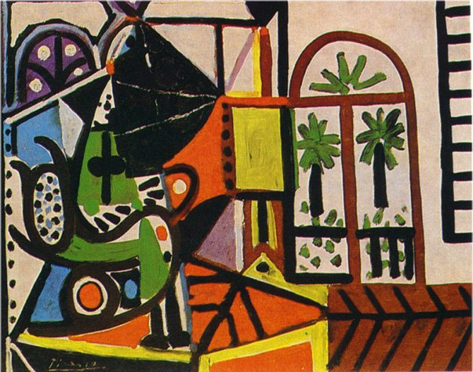 01 Pablo Picasso Woman in the studio 1956