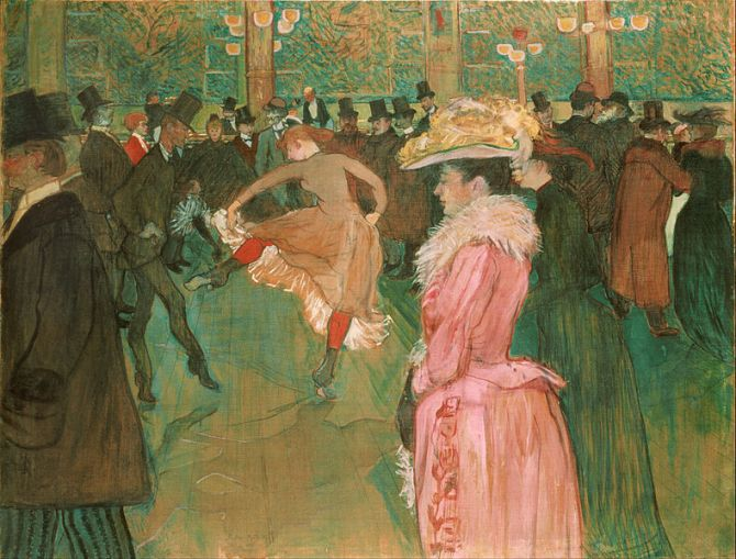 02. Henri_de_Toulouse-Lautrec,_French_-_At_the_Moulin_Rouge-_The_Dance