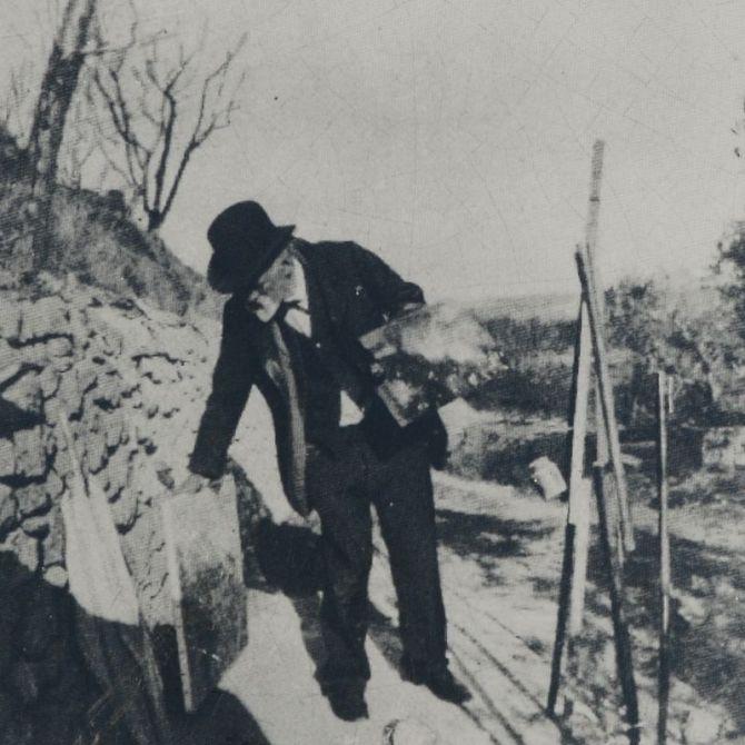 03. Paul Cézanne at Lauves (Provance)