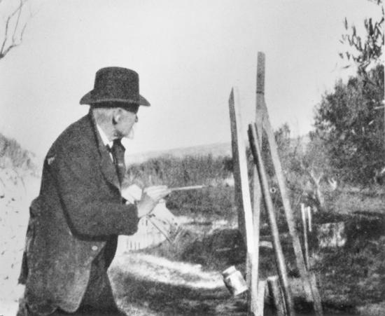 03. Paul Cézanne painting