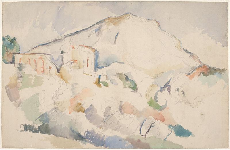 03.Paul_Cézanne_-_Château_Noir_and_Mont_Sainte-Victoire,_c._1890-1895