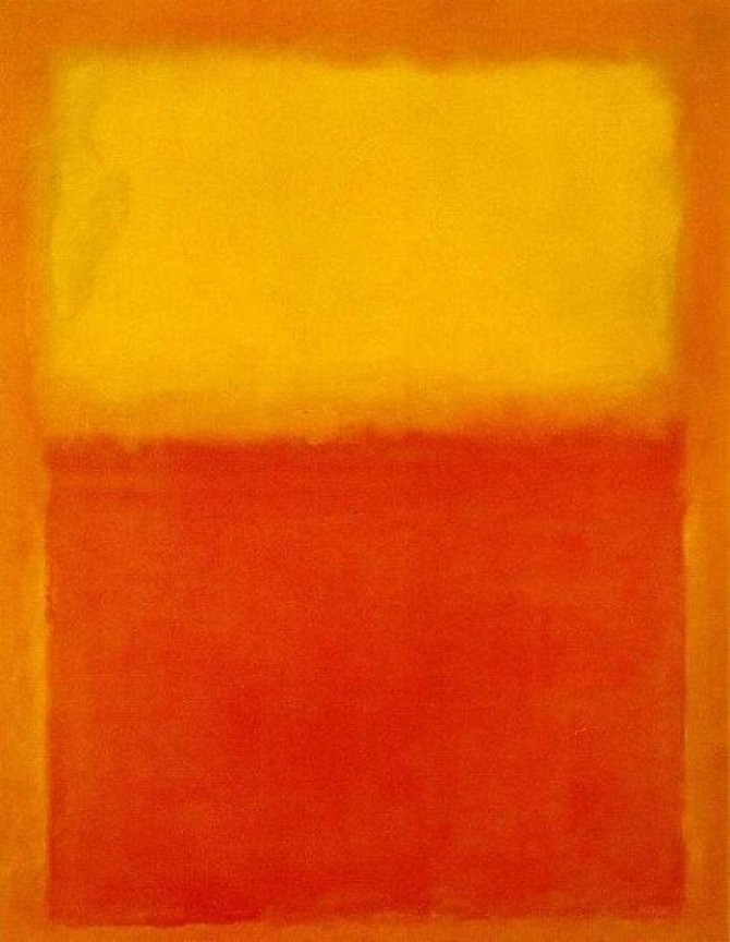 06. Orange and Yellow Mark Rothko 1956