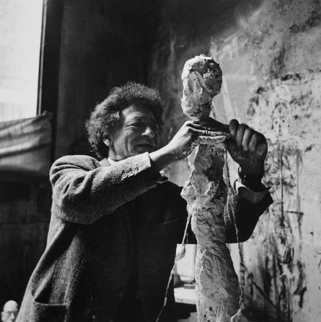Giacometti working
