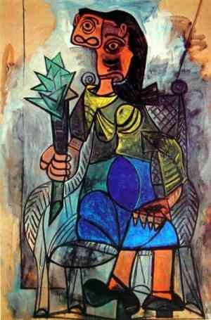 Picasso -Woman with an Artichoke