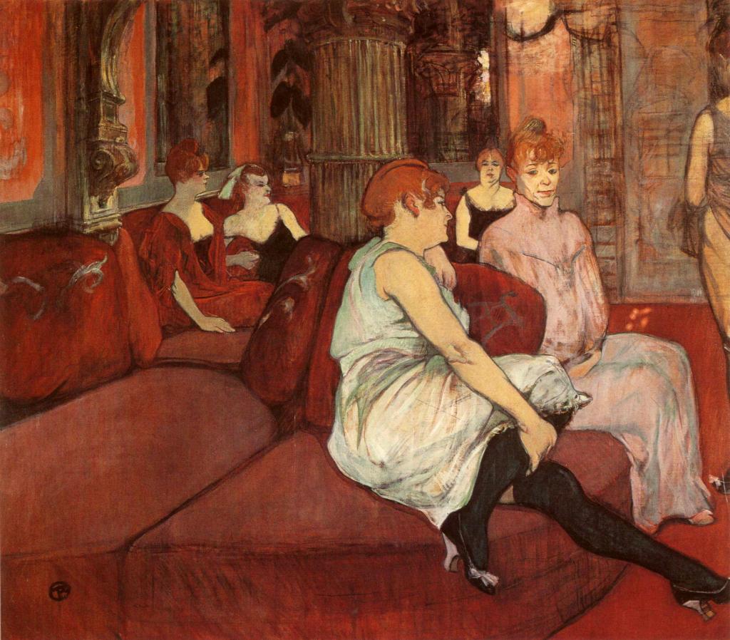 Toulouse-Lautrec_1894_In-the-Salon-at-the-Rue-des-Moulins