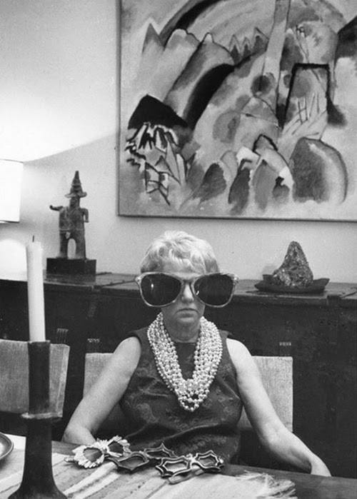 00 Peggy Guggenheim at her home the Palazzo Venier dei Leoni in Venice 1960s