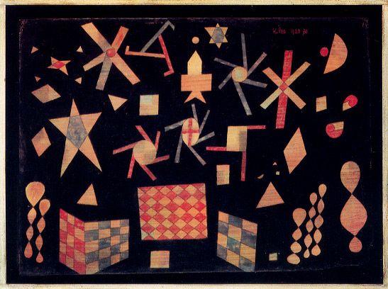 01. Paul Klee - Assyrisches Spiel 1923