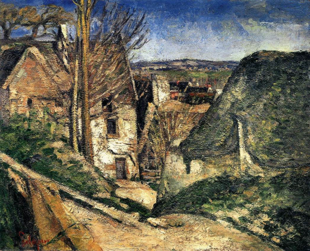 02 House of the Hanged Man, Auvers-sur_Oise 1873. Oil on canvas, 56 x 66 cm. Musée d'Orsay, Paris