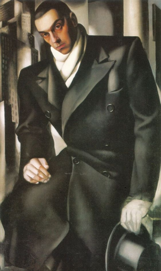 06Portrait of a Man or Mr Tadeusz de Lempicki - Tamara de Lempicka De Lempicki
