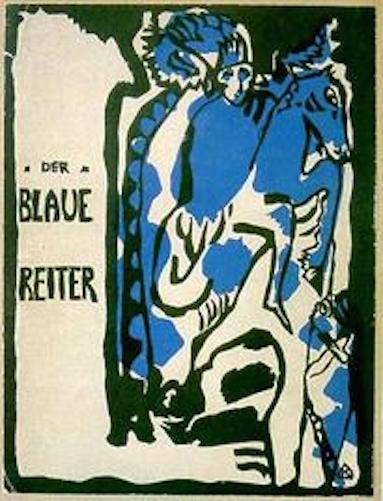 08 Titel Cover of 'Der Blaue Reiter' Almanac, 1911 woodcut