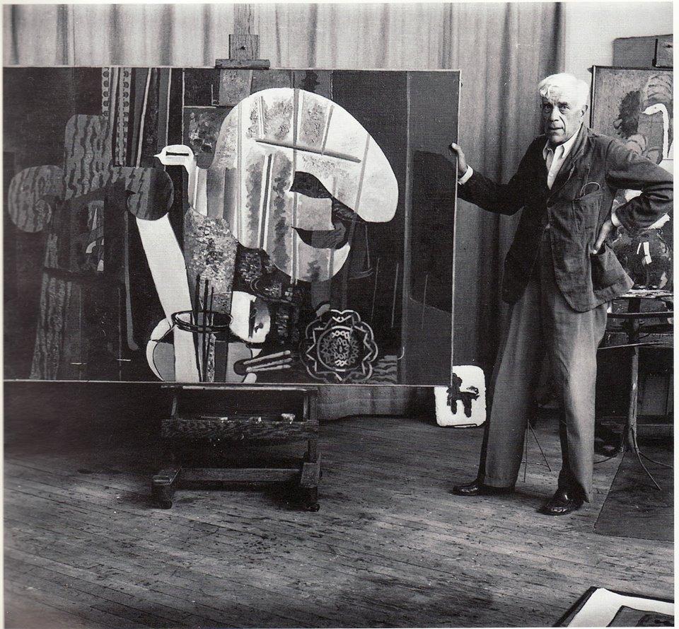 11 Georges Braque in his studio