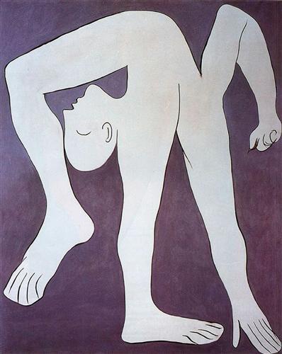 12 Pablo Picasso_Acrobat 1930_oil on canvas_Musée Picasso Paris