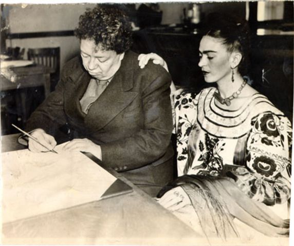 Diego Rivera and Frida Kahlo, who were divorced, married again at San Francisco City Hall in 1940