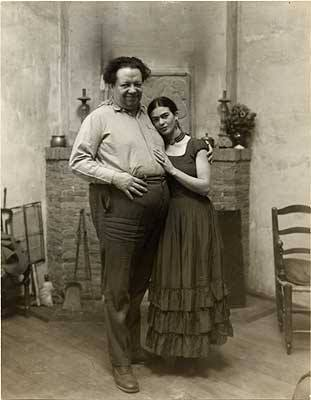 Frida and Diego at the AGO exhibit
