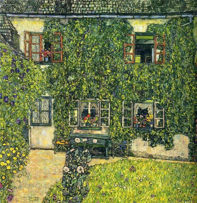 Gustav Klimt - 1912 The House of Guardaboschi