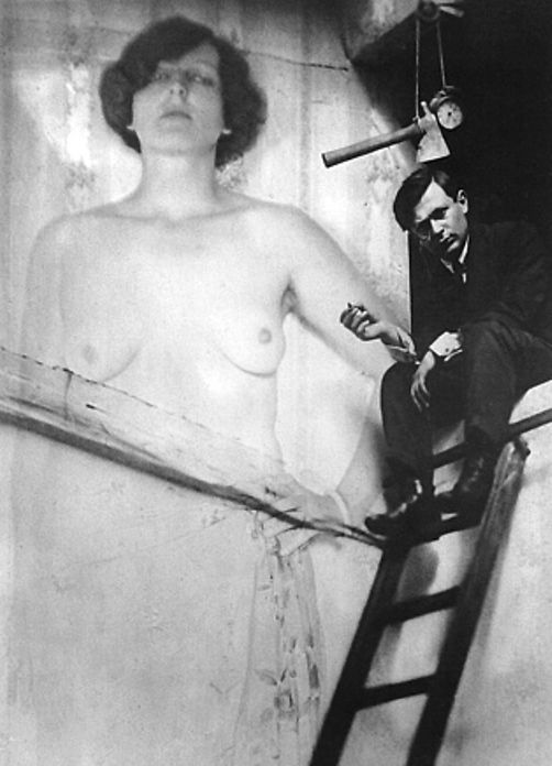 Man Ray (1890-1976), Portrait of Tristan Tzara, c. 1921.
