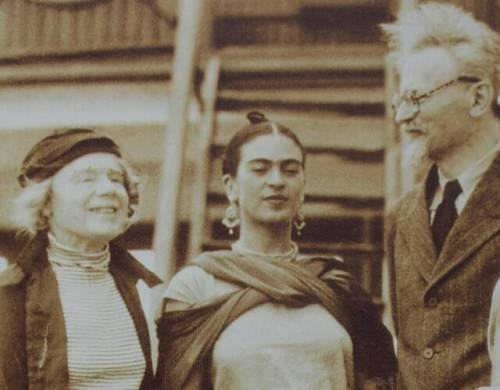 Natalia and Leon Trotsky arriving in Tampico - Mexico, January 9, 1937
