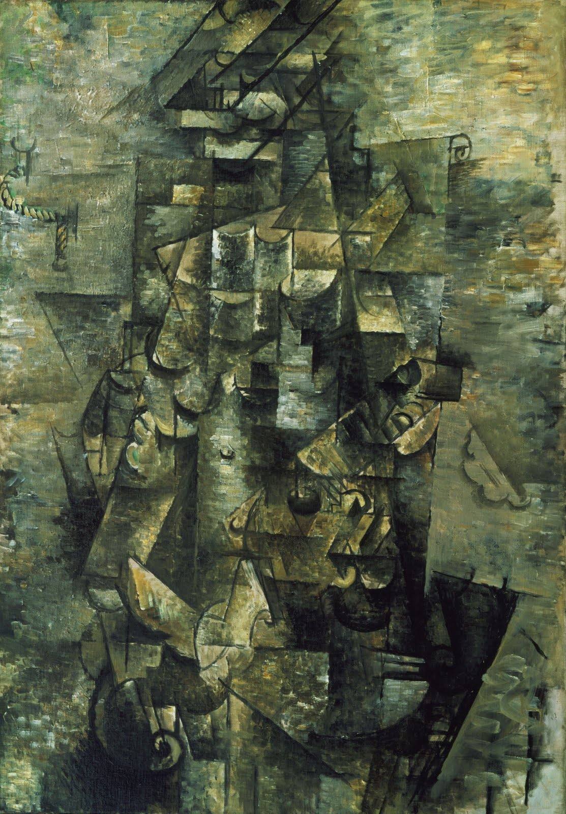 03 Georges Braque - Man with a Guitar