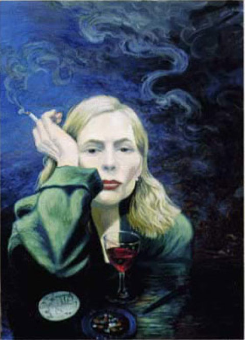 Joni Mitchell, Self Portrait. 1999