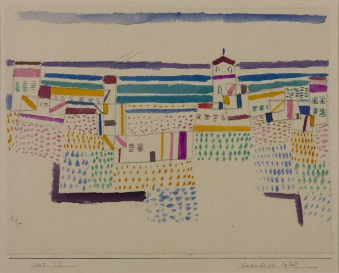Seaside Resort in the South of France 1927 Paul Klee 1879-1940 Presented by Gustav and Elly Kahnweiler 1974, accessioned 1994 http://www.tate.org.uk/art/work/T06795