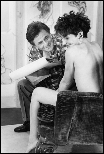 Peter Falk and his Model
